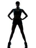 Jogger бегунка женщины стоковые изображения