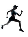 Jogger бегунка женщины Стоковое Изображение