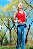 jogger fotografia stock