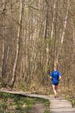 jogger arkivfoton