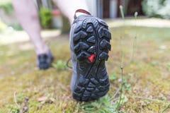 Jogger biega outdoors zdjęcia stock