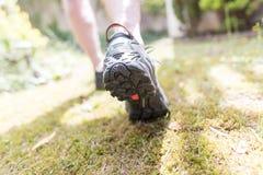 Jogger biega outdoors fotografia royalty free