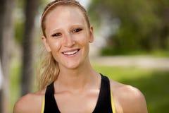 jogger portret Zdjęcie Stock