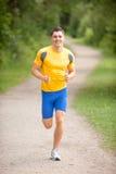 jogger szczęśliwi potomstwa Fotografia Stock