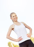 Jogger woman Royalty Free Stock Photos