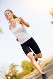 Jogger woman Royalty Free Stock Photo