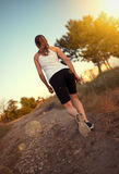 Jogger woman Stock Images