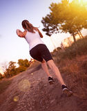 Jogger woman Royalty Free Stock Images