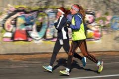 joggers 2 запачканная предпосылка Стоковая Фотография RF