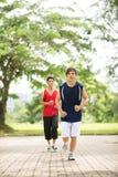 Joggers stock afbeeldingen