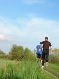 Joggers Stock Photo