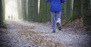 Joggers w parku zdjęcie royalty free