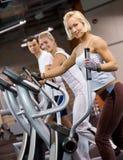 jogging άνθρωποι γυμναστικής Στοκ Εικόνα