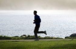 jogging άτομο Στοκ Φωτογραφία