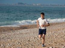 jogging έφηβος στοκ φωτογραφίες με δικαίωμα ελεύθερης χρήσης