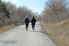 jogging ίχνος Στοκ φωτογραφία με δικαίωμα ελεύθερης χρήσης