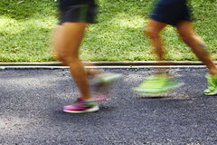 jogging πάρκο Στοκ εικόνες με δικαίωμα ελεύθερης χρήσης
