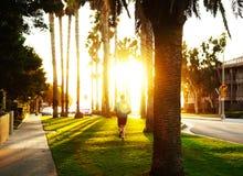 Jogging στη Βενετία Στοκ φωτογραφίες με δικαίωμα ελεύθερης χρήσης