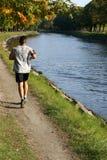 jogging ύδωρ Στοκ Φωτογραφία