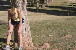 jogging высасывания Стоковые Фотографии RF