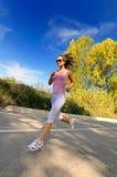 jogging девушки Стоковые Изображения RF