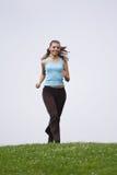 jogging женщина стоковые изображения rf