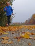 jogging женщина Стоковые Фотографии RF