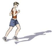 Jogging женщины Стоковое Изображение RF
