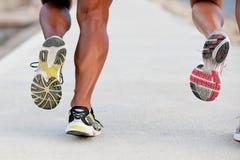 Jogging или бежать Стоковые Изображения