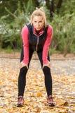 jogging отдыхать Стоковое Изображение RF