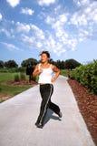 jogging парк Стоковое Изображение RF