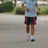 jogging парк Стоковые Изображения