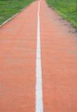 jogging след Стоковые Фото