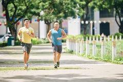 Jogging совместно Стоковая Фотография RF