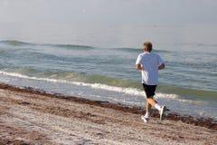 jogging человек Стоковые Изображения RF