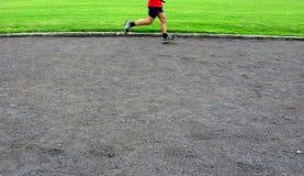 jogging человек Стоковое Изображение RF