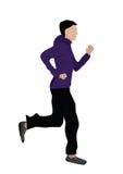 Jogging человека Стоковое Фото