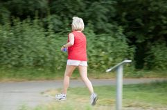 Jogging Royalty Free Stock Photo