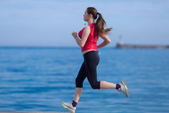 jogging fotografía de archivo