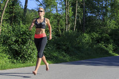 jogging foto de archivo libre de regalías