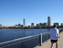 Jogging by Charles River Stock Photography