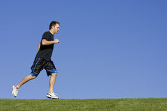 Jogging and Exercise Royalty Free Stock Image