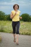 Jogging female Royalty Free Stock Photos