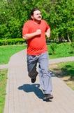 Jogging guy Stock Image