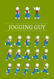 Jogging  Guy Royalty Free Stock Photos