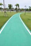 Jogging lane Stock Images