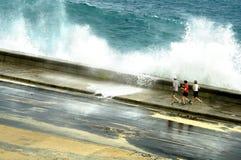 jogging malacon Стоковое Изображение