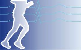 Jogging man Royalty Free Stock Photography