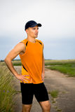 Jogging man Royalty Free Stock Images