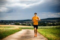 Jogging man Royalty Free Stock Image